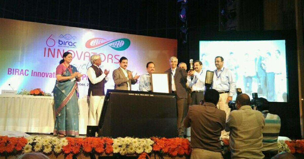 ATGC Biotech winning the BIRAC innovation award