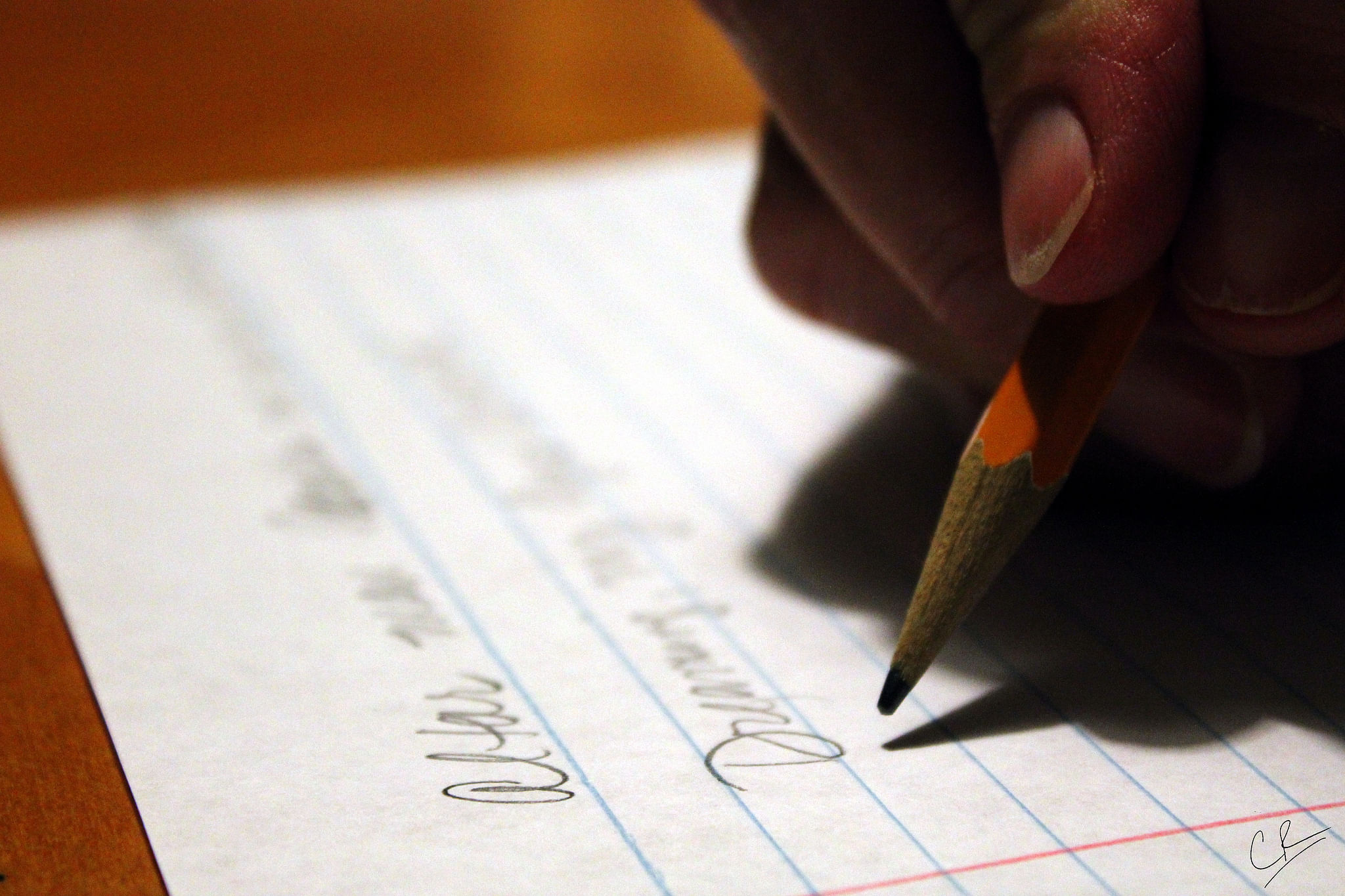 UP Class 12 writer's cramp