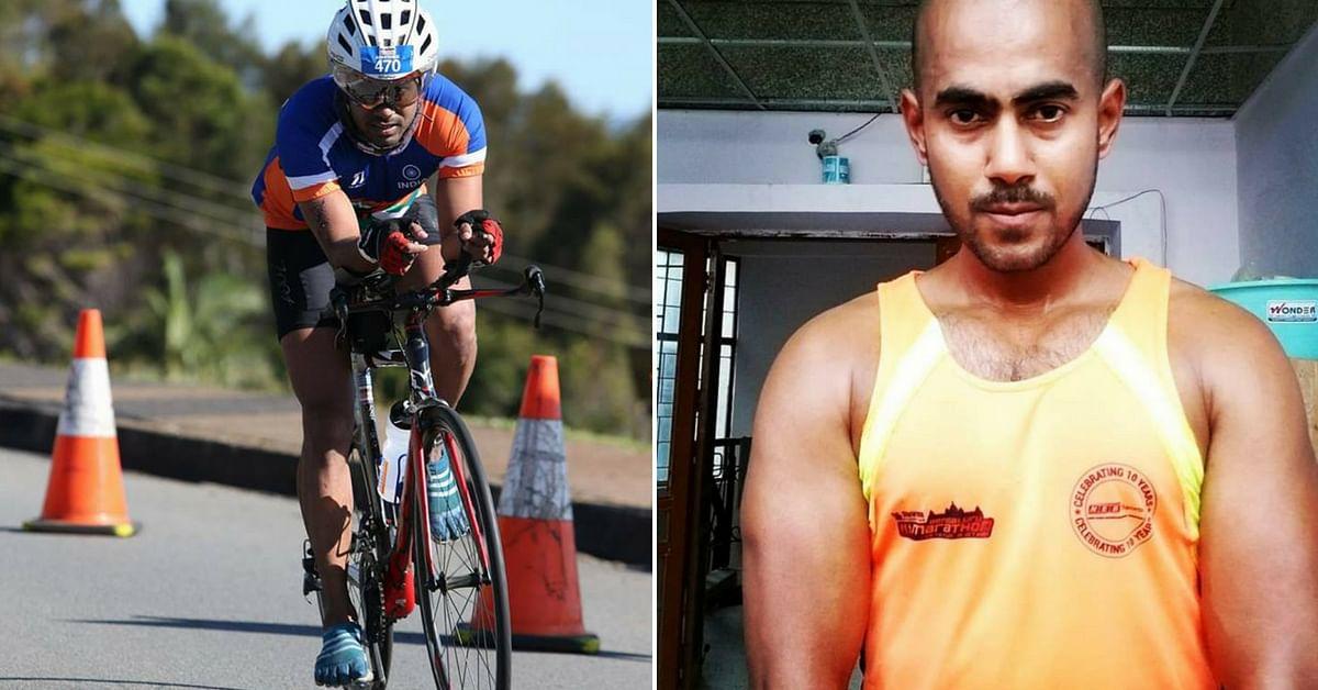 Abhishek Mishra, who quit the corporate life, to follow endurance sports. Image Credit: Abhishek Mishra