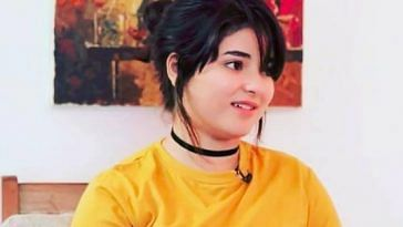 Actor Zaira Wasim has shared her issues with depression. Image Credit: Facebook.
