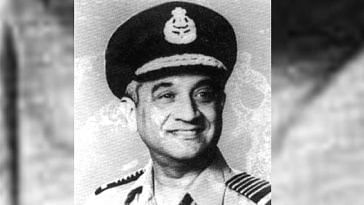 Air Chief Marshal Idris Hasan Latif of the IAF is truly iconic. Image Courtesy: Twitter.