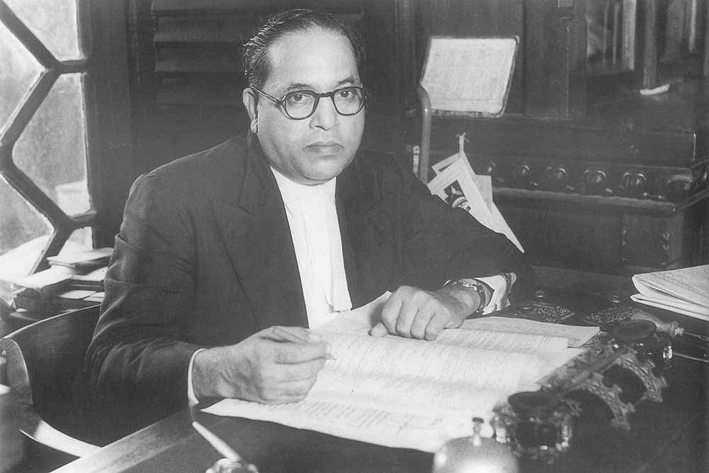 Dr BR Ambedkar (Source: Wikimedia Commons)