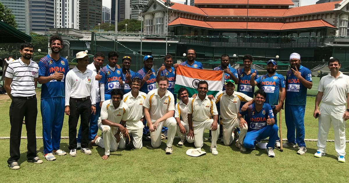 Both teams expressed joy at playing in the tournament. Image Credit: The winning shot, by Team India. Video Credit; Physically Disabled Indian Cricket Team