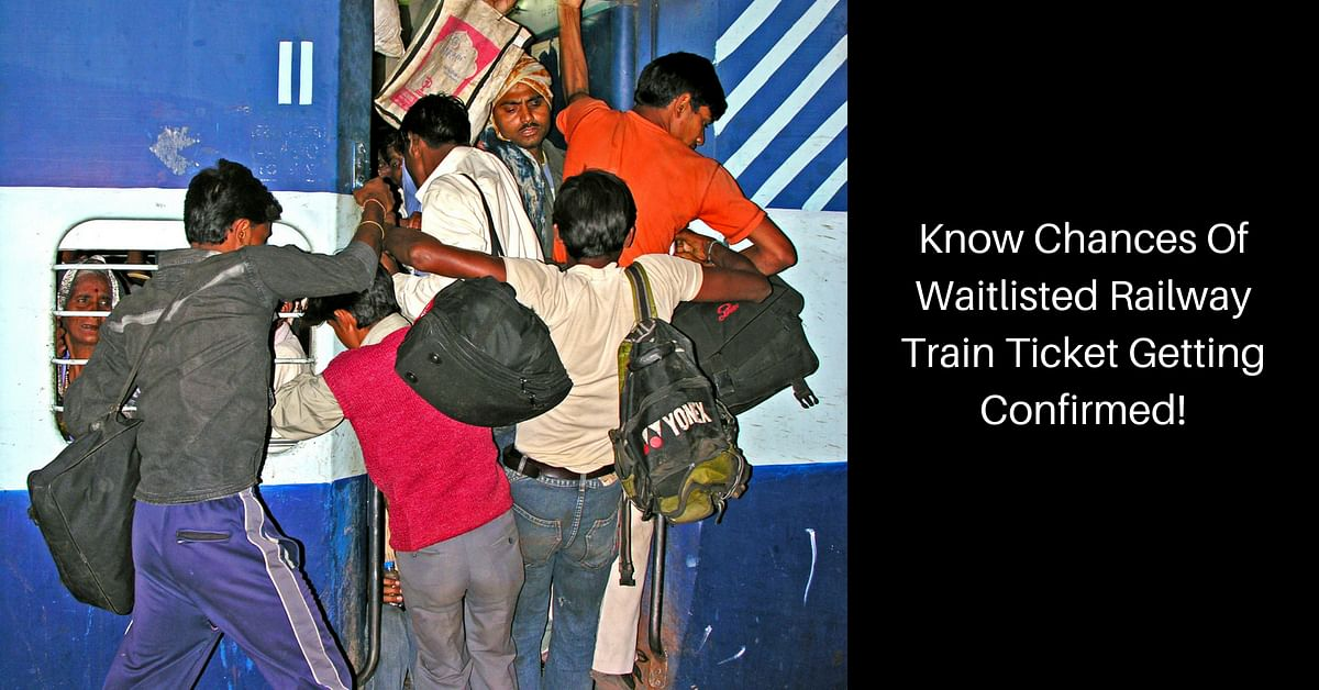 Want to Know If WL/RAC Ticket Will Get Confirmed? IRCTC Will Predict It for You!