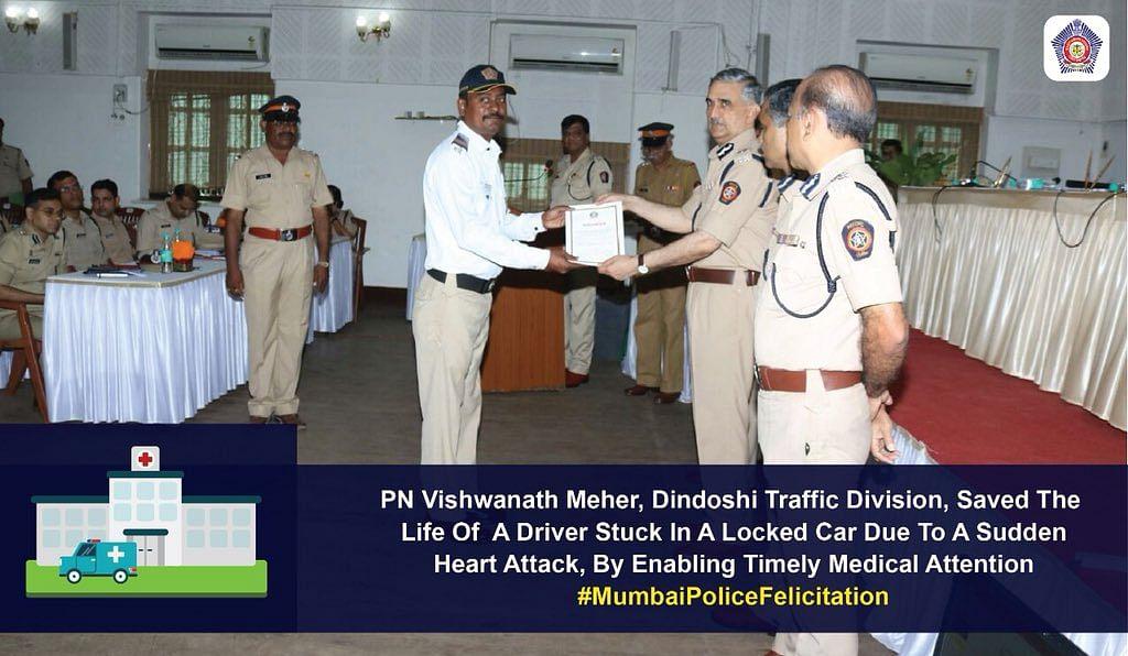 mumbai traffic cop