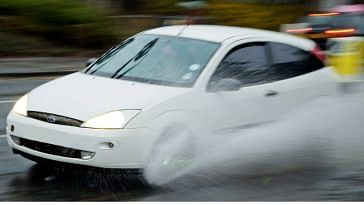Drive safe, during the monsoons!Representative image only . Image Credit: Pxhere.
