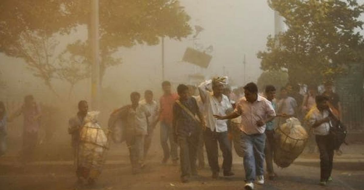 Duststorms and thundershowers kills 69 in UP and Tajasthan, over 100 injured