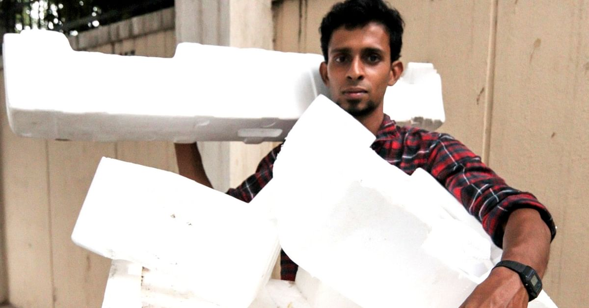 Ferdin wanted to find a safe and environment-friendly way to dispose of solid waste. Pic Credit: Ferdin Sylvester