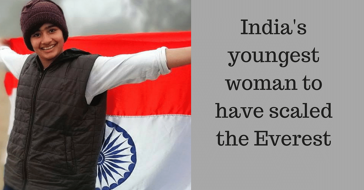16-YO From Haryana Breaks Record, Becomes Youngest Woman to Scale Everest!