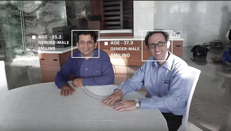 Accenture AI visually-impaired drishti