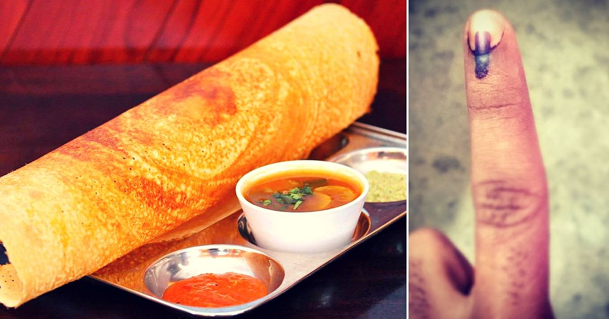 Karnataka Elections: Show your Inked Finger, Get Free Dosas, Coffee & Internet!