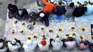 Kerala vishnu temple Ramadan iftar
