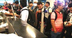 Long waiting lines at airports may be a thing of the past, thanks to the new paperless boarding initiative using AirSewa. Representative image only. Image Credit: Rakesh Manchanda.