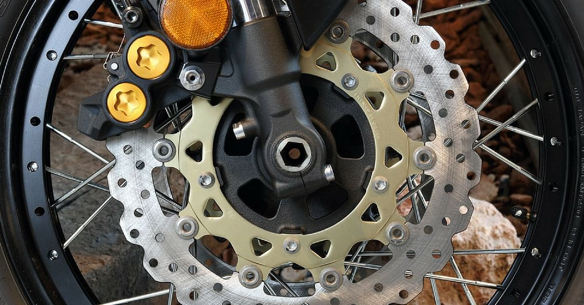 Make sure that your disc brakes are clean, and the brake pads are not worn out, especially during monsoons.Representative image only. Image Credit: Pixabay
