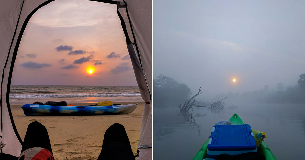 Not just Karnataka, Sushant wants to travel down India's coastline. Image Credit: Kayakboy