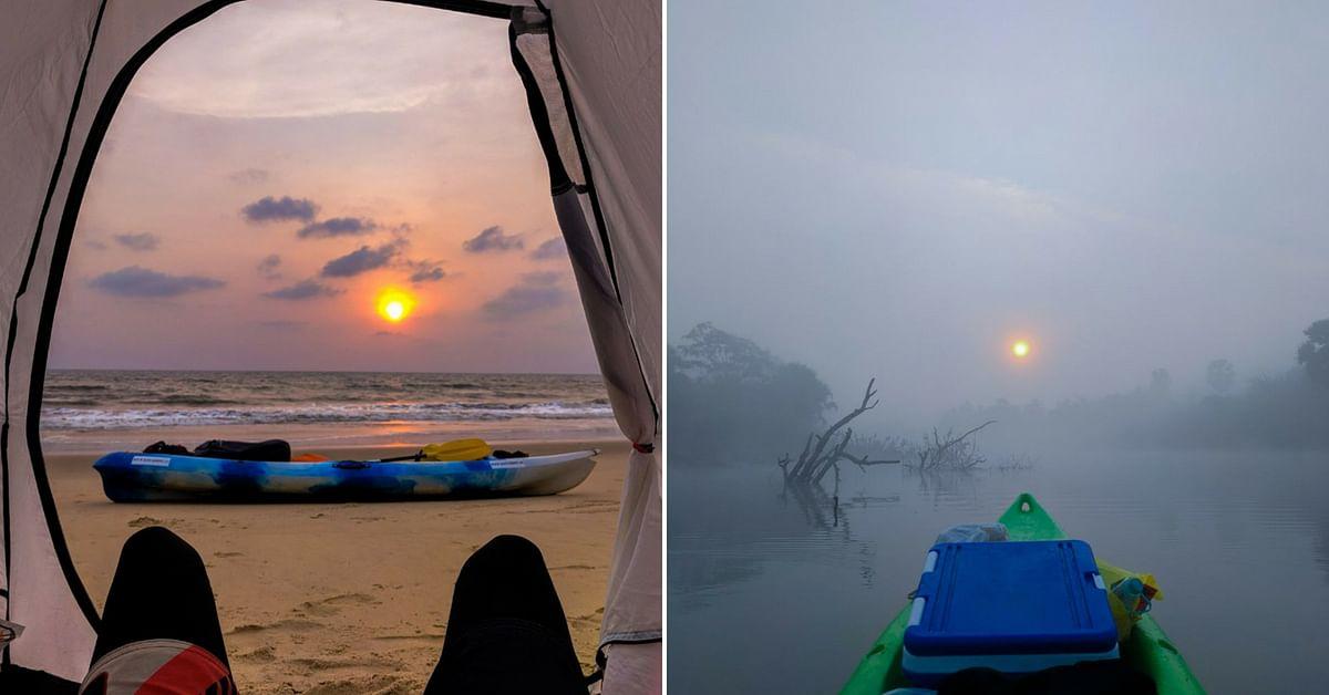 Not just Karnataka, Sushant wants to travel down India's coastline. Image Credit: Kayakboy