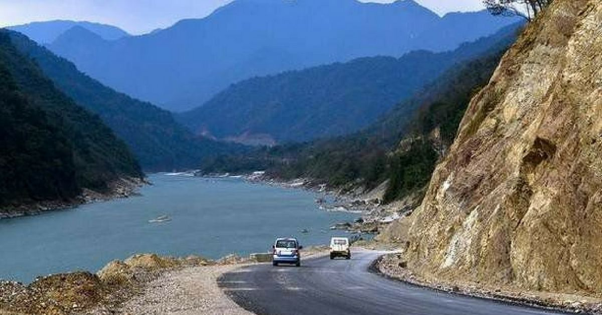 Pasighat is beautiful, being the meeting point of 2 rivers. Image Credit: Anjani Kumar Shahi