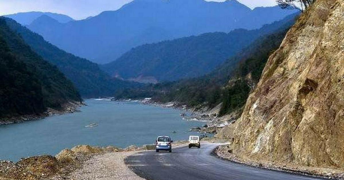 Pasighat is beautiful, being the meeting point of 2 rivers. Image Credit: Anjani Kumar Shahi