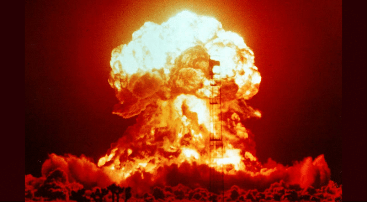 Smiling Buddha (Pokhran-I) was the assigned code name of India's first successful nuclear bomb test on 18 May 1974. (Souce: Wikimedia Commons/Representational Image)