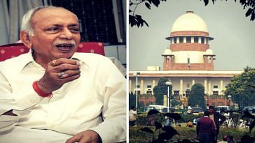 Ex-IAS officer SN Shukla has fought many battles in the Supreme Court. (Source: Facebook)