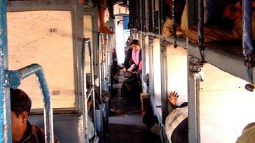 Separate coaches for women in the train's centre, should increase safety, feels the Railways. Representative image only. Image Courtesy: Wikimedia Commons.