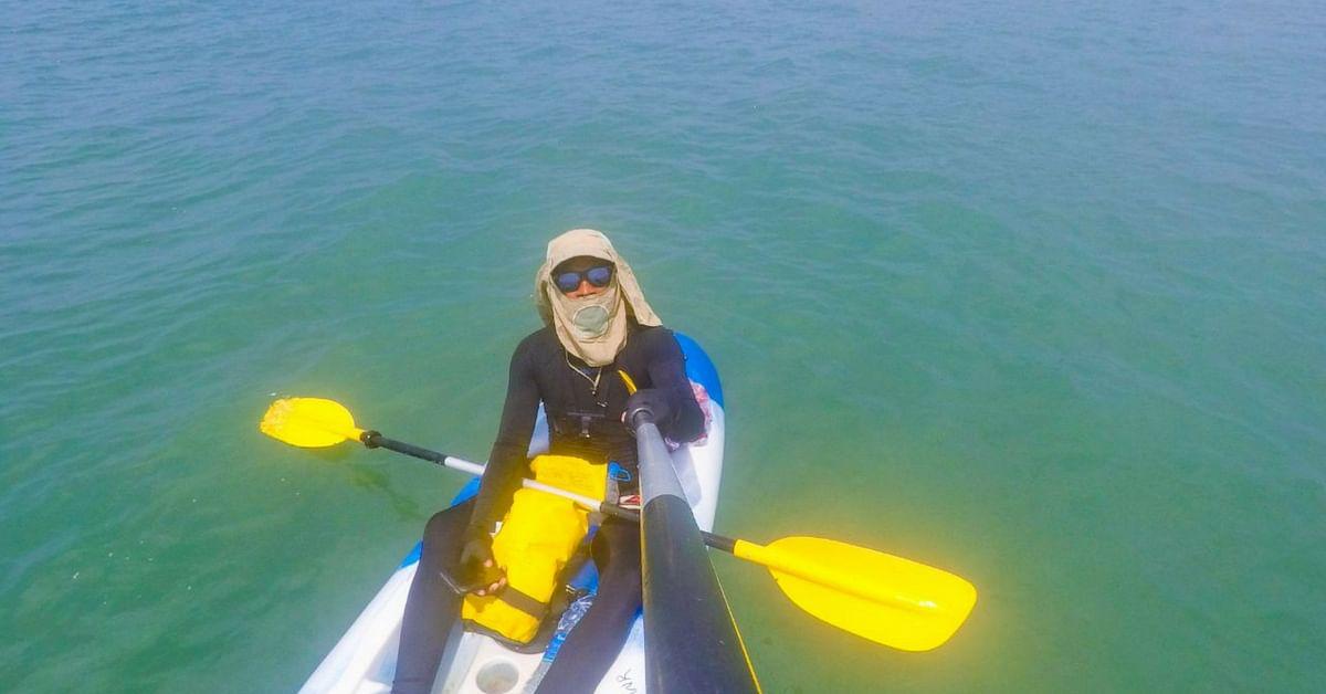 Sushant decided to explore the idea of kayaking in Karnataka. Image Credit: Kayakboy