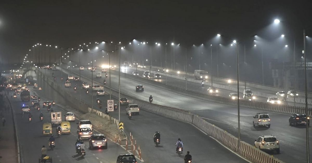 The Delhi-Meerut expressway will have a dedicated cycle track. Image Credit: Manjinder Sirsa