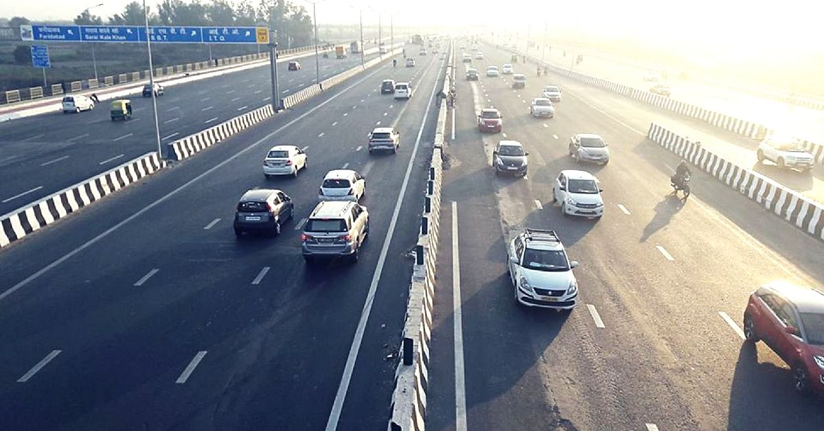 The Delhi-Meerut expressway will use solar power for its energy requirements. Image Credit: Kuldeep Godara