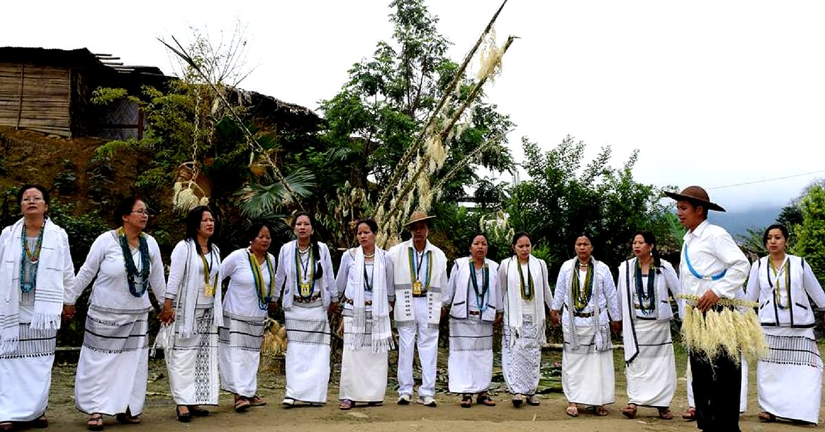 The Mopin festival, is celebrated with great spirit, in Arunachal Pradesh. Image Credit: IGRMS Bhopal.