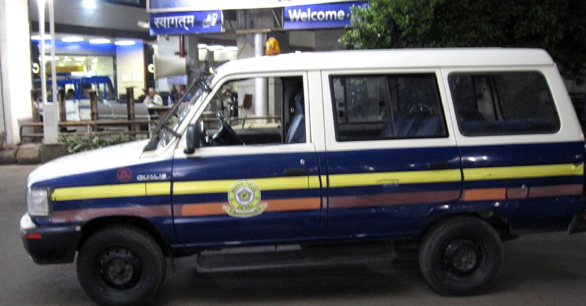 The Mumbai Police acted quickly, and transported the 90-year-old in a van. Representative image only. Image Courtesy: Flickr
