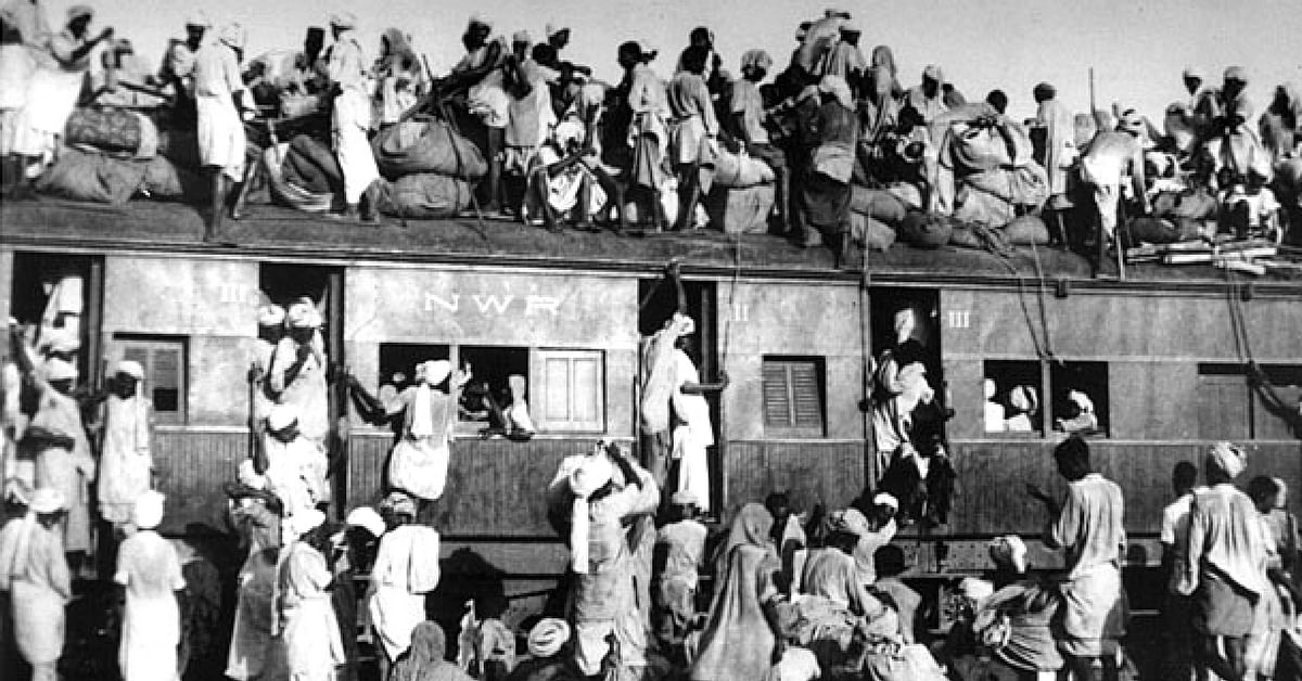 The Partition caused an uprooting and migration of countless people. Image Courtesy: Wikimedia Commons.