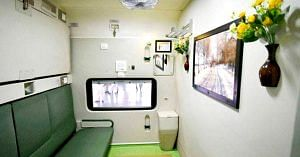 The Railways are planning to roll out smart coaches equipped with great amenities and safety features.Representative image only. Picture Courtesy: Facebook.