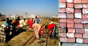 The Railways has decided to convert waste soil into bricks. Representative image only. Image Credit: Wikimedia Commons.
