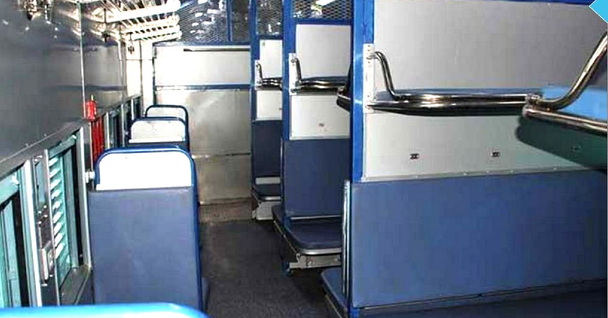 The coaches will be a boon, for unreserved passengers feels the Railways. Image Credit: Twitter (Ministry of Railways)