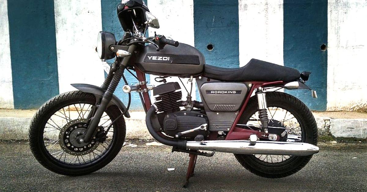 The iconi Yezdi Roadking, was made at the Mysuru factory. Image Courtesy: Facebook.