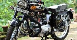The iconic Royal Enfield, has been around in India for ages. Image Credit: Facebook.