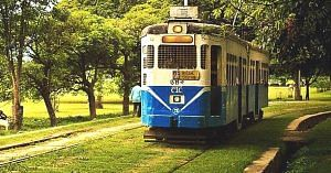The iconic tram-an inseparable part of Kolkata's heritage. Image Credit: Instagram.