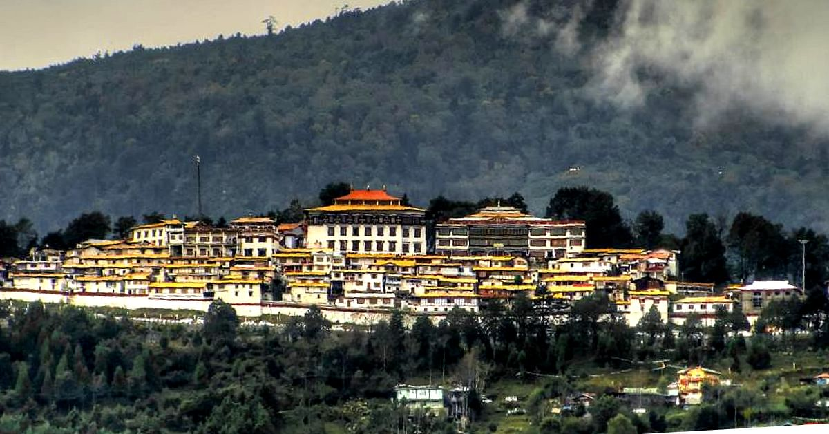 The magnificent monastery in Tawang, Arunachal Pradesh. Image Credit: Anubhav Banerjee