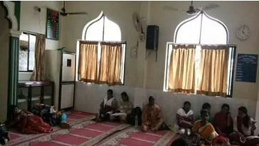 The mosque in Kerala offered shelter to the parents of those writing the NEET exam. Image Courtesy: Facebook.