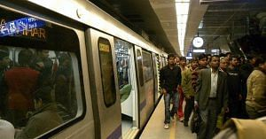 The new Magenta Line of the Delhi Metro, is expected to cut the Gurugram-Noida commute time considerably. Representative image only. Image credit: Flickr