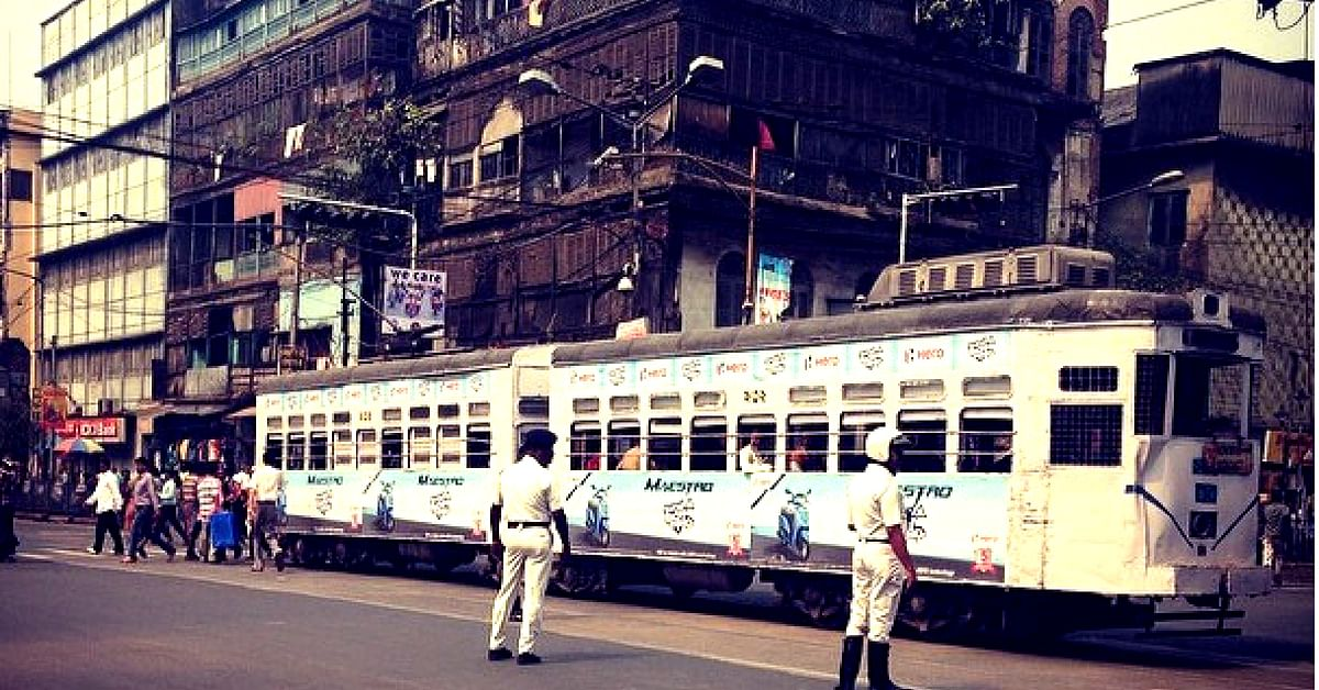 The trams in Kolkata have fewer routes and passengers than before. Image Credit: Instagram