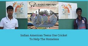 Two Indian American Teens Use Cricket TO help The Homeless