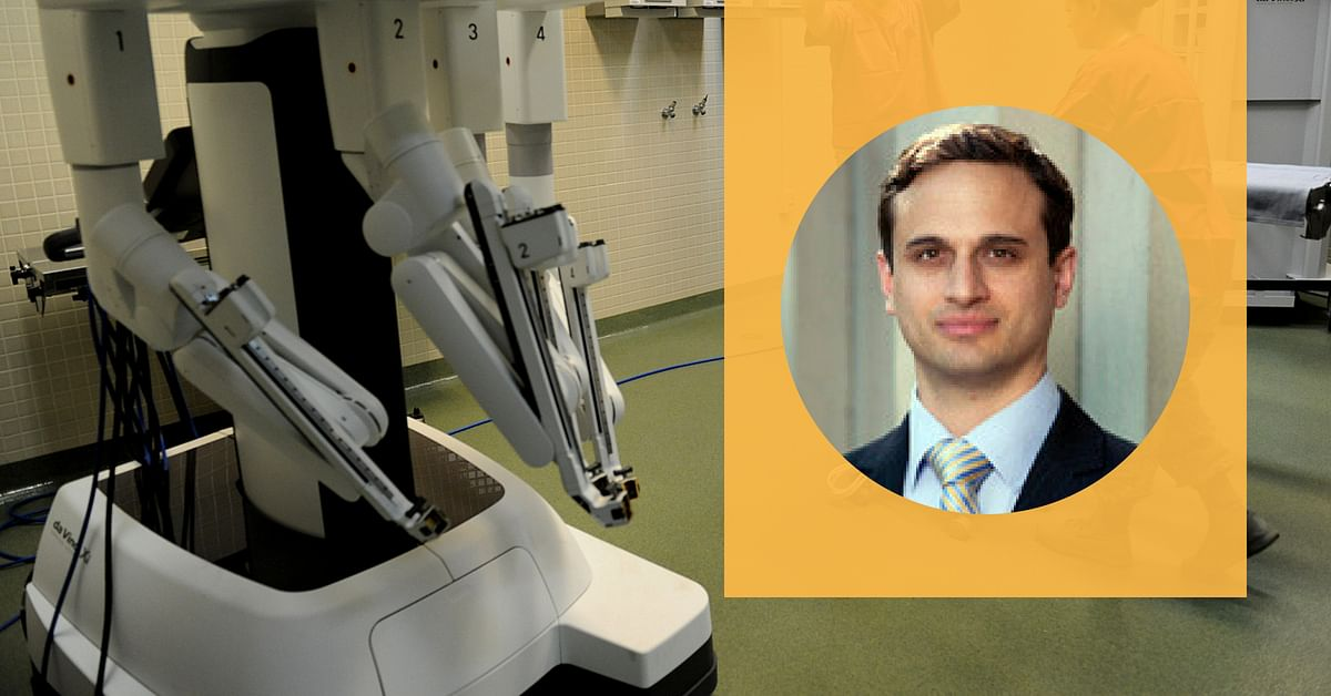 Indian-Origin Doctor Leads World's 1st Robotic Surgery to Remove Rare Tumour!