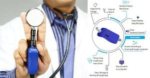 Digital Stethoscope by Indian Startup