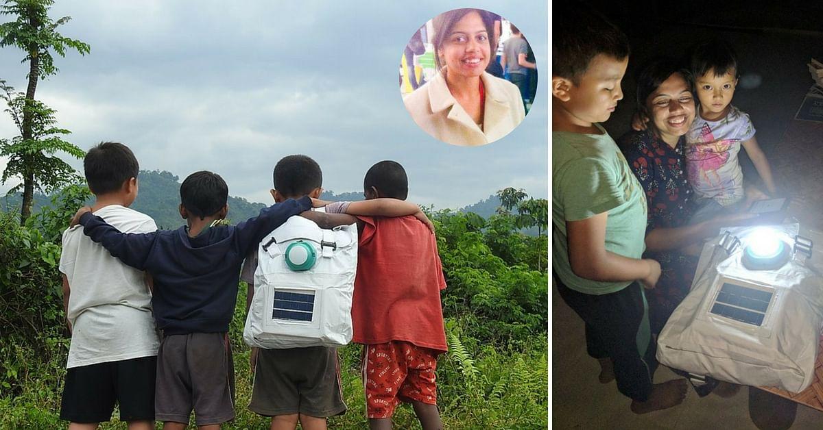 Jugnu Solar backpack IIT professor