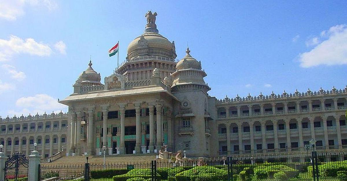 Karnataka Assembly building. (Source: Wikimedia Commons)