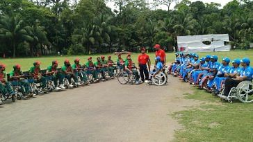 Wheelchair India team (1)