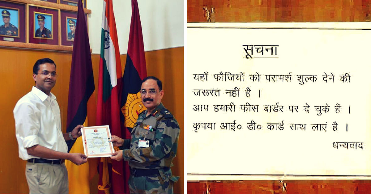 Lucknow Doctor Treats Soldiers For Free, Says 'They Have Paid Their Fee at the Border'!
