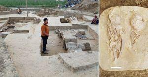 Archealogical Survey Of India Excavation site Uttar Pradesh Findings