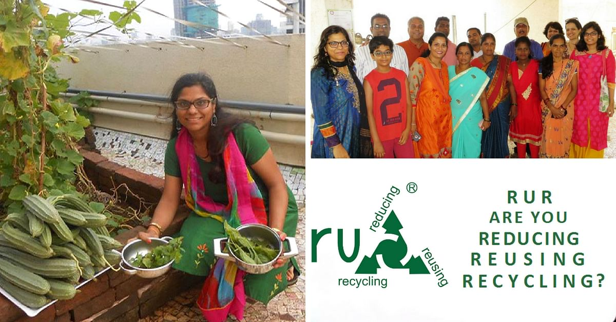 Matoshree Pearl Organic terrace farming recycling kitchen waste RuR Green Life